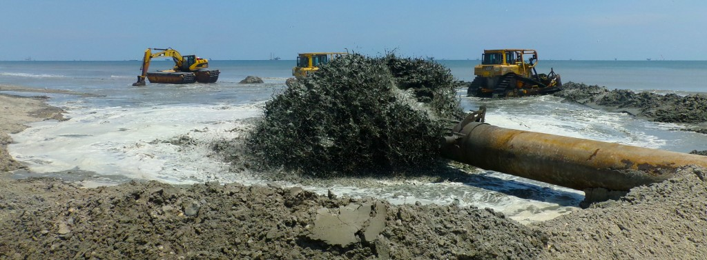 First Placement of Ship Shoal Sand, Caminada Headland, Lafourche Parish, Louisiana edt
